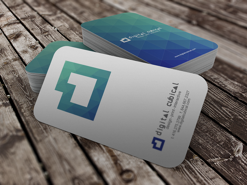 Take a look at the new Digital Cubical business cards | Digital Cubical